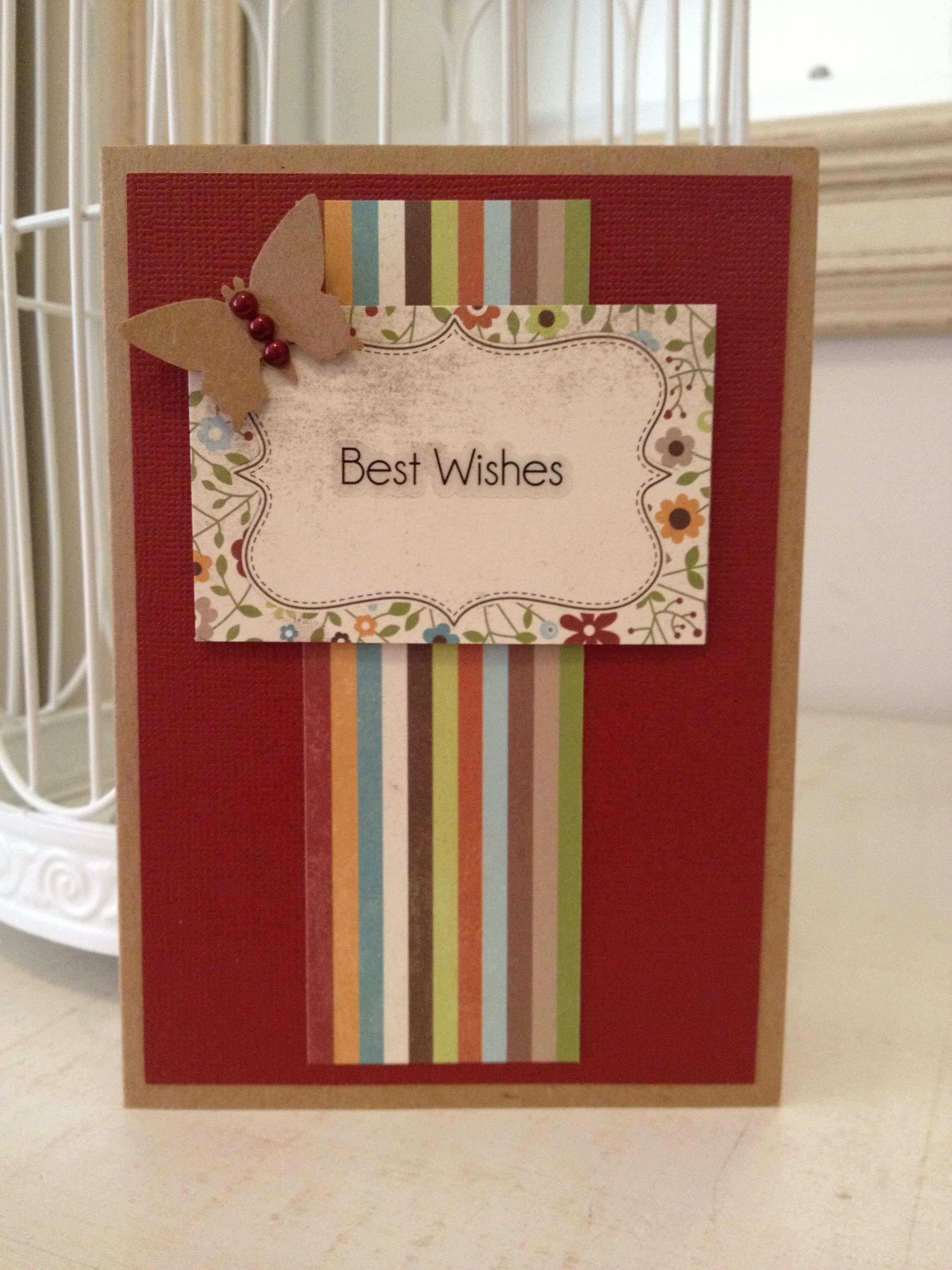 Best wishes card cards pinterest cards and card ideas