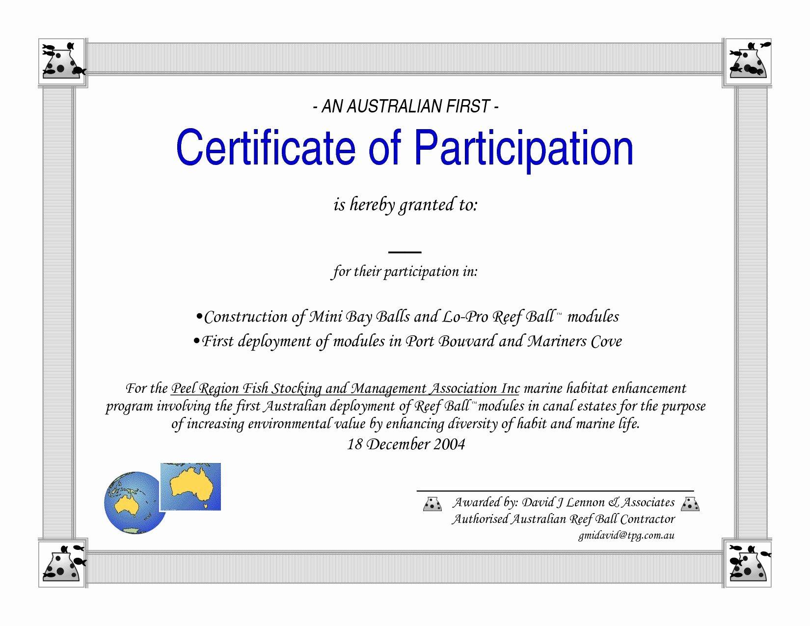 participation certificate template word pdf throughout sample certificates printable dannybarrantes graduation xfanzexpo professional