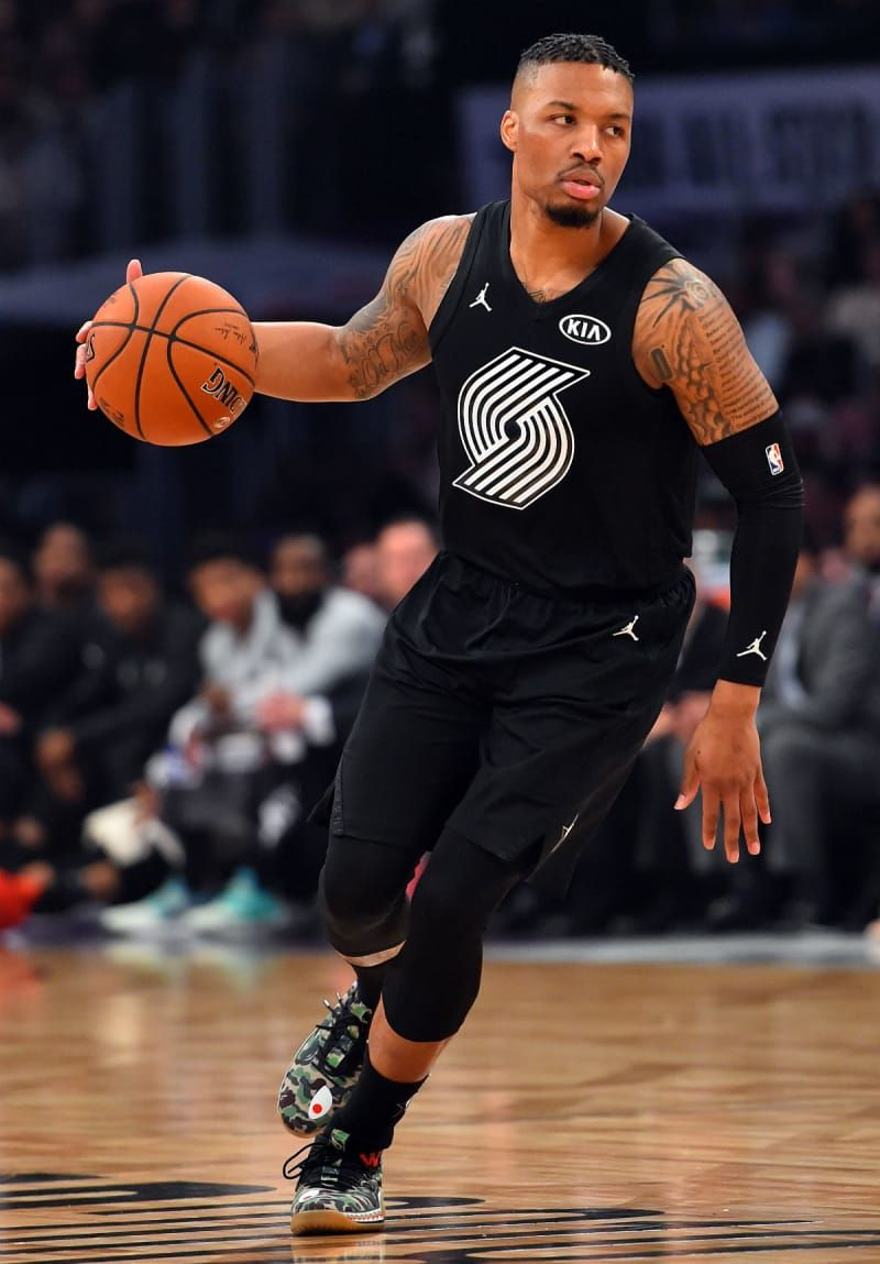 Damian Lillard Bape x Adidas Dame 4 NBA All Star Game