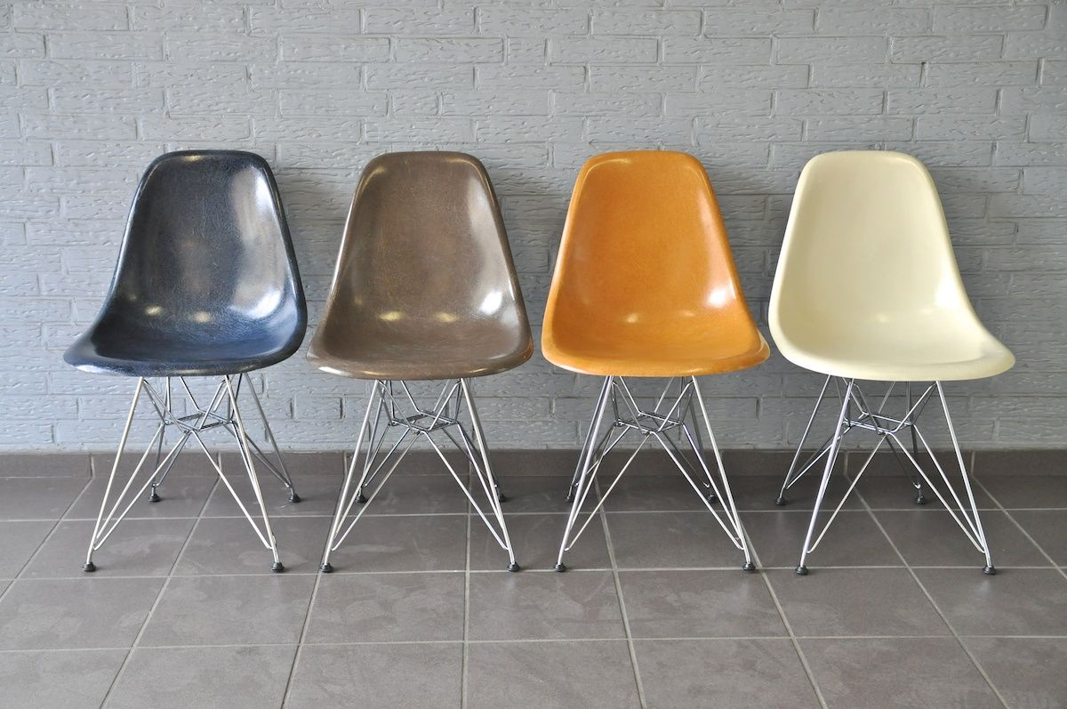 Maison Original Vs Replika Der Eames Plastic Chair