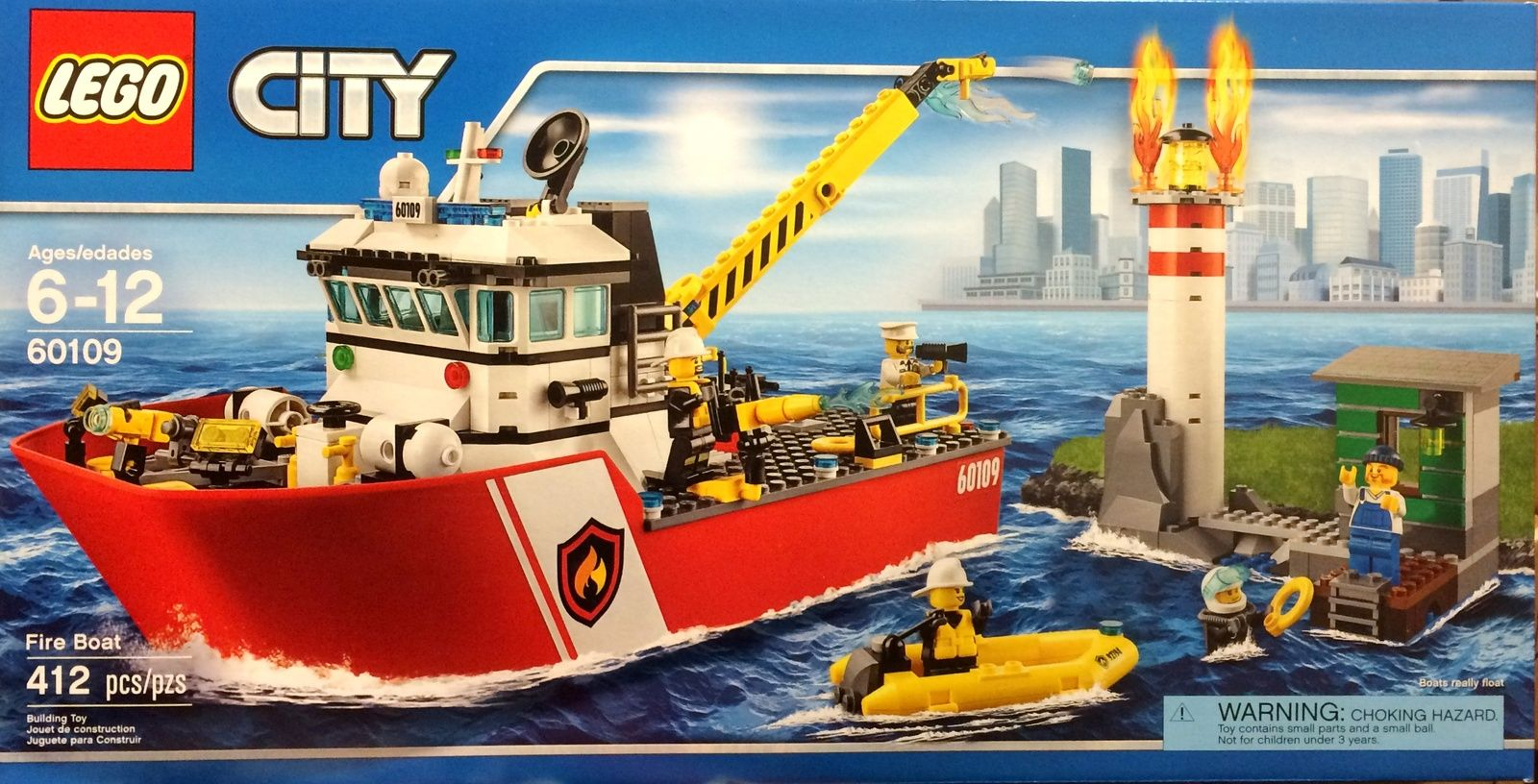 Lego City 60109 Fire Boat Instruction Manuals 1 2 and 3 Only Bauanleitung