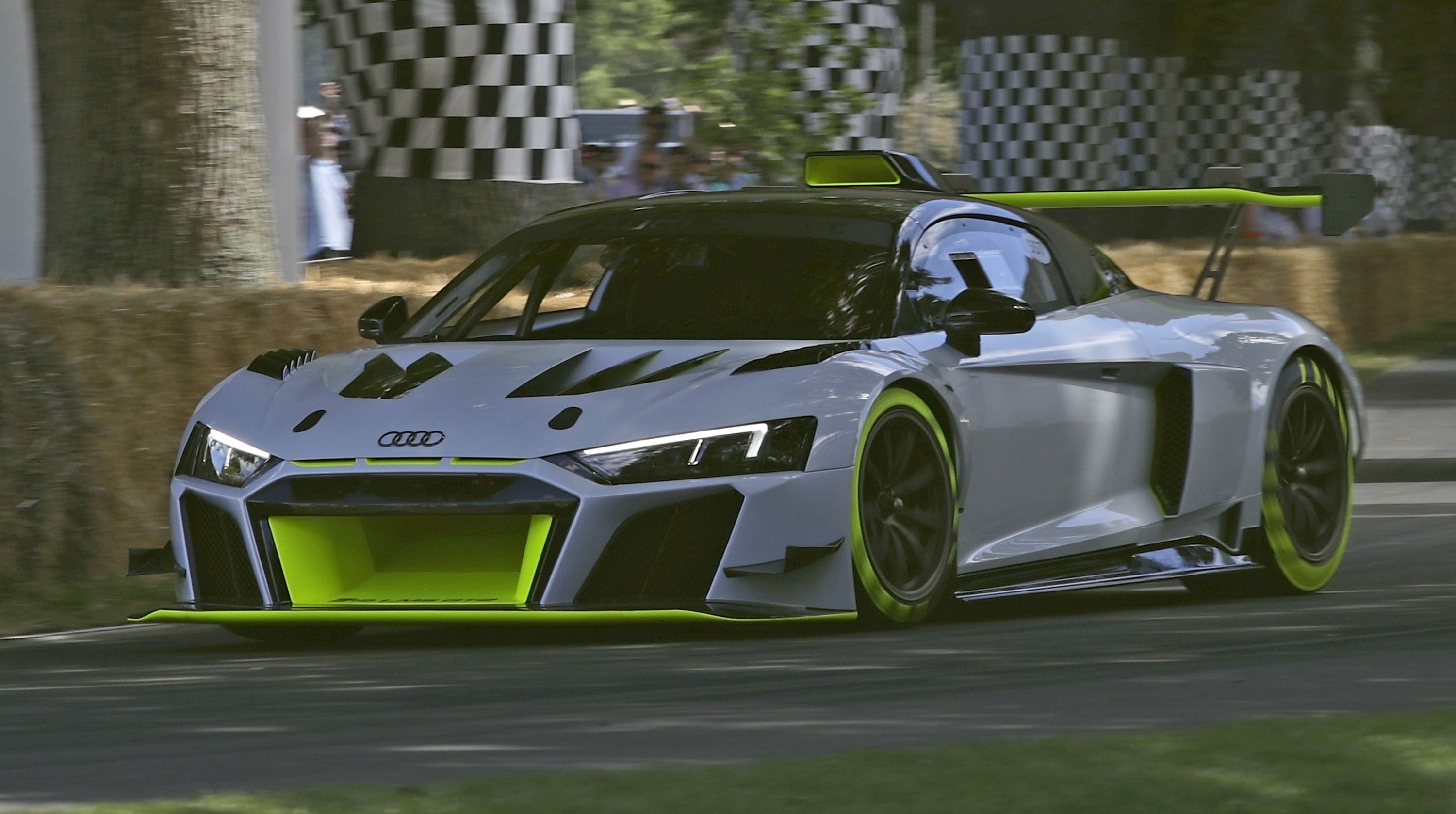 The 2020 Audi R8 Lms Gt2 Is The R8 We Deserve For The Road But Can T Have Audi Audi R8 Spyder Audi R8