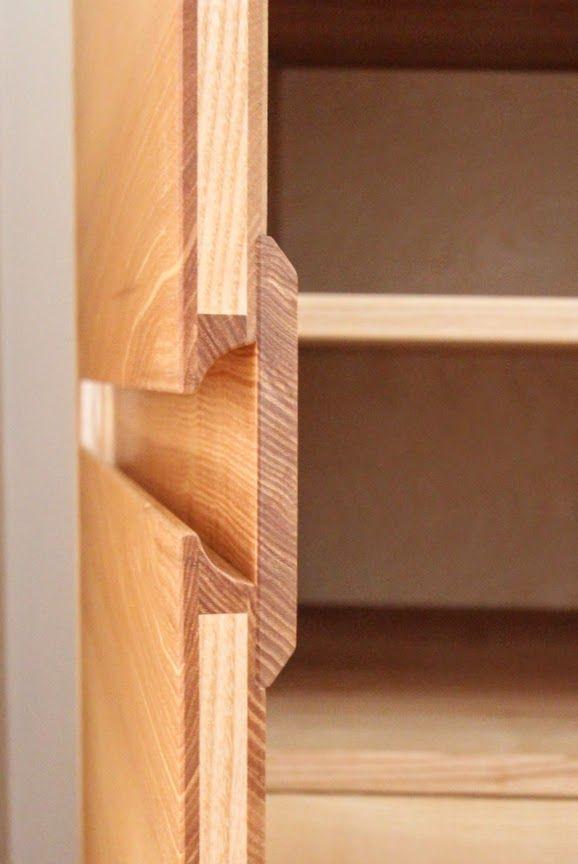 Marvelous kleiderschrank aus massivholz esche tischlerei dresden griffleiste For the Home Pinterest