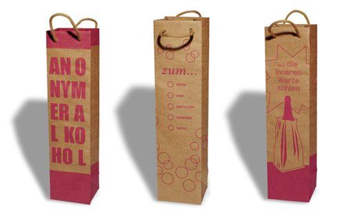 Flaschentasche - Bottle Bag !