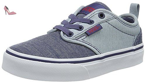Atwood, Sneakers Basses Garçon, Bleu (Distress/Dress Blue/White), 29 EU (UK Child 11.5 Enfant UK)Vans