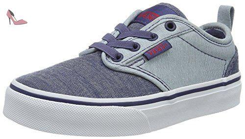 Atwood, Sneakers Basses Garçon, Bleu (Distress/Dress Blue/White), 29 EU (UK Child 11.5 Enfant UK)Vans