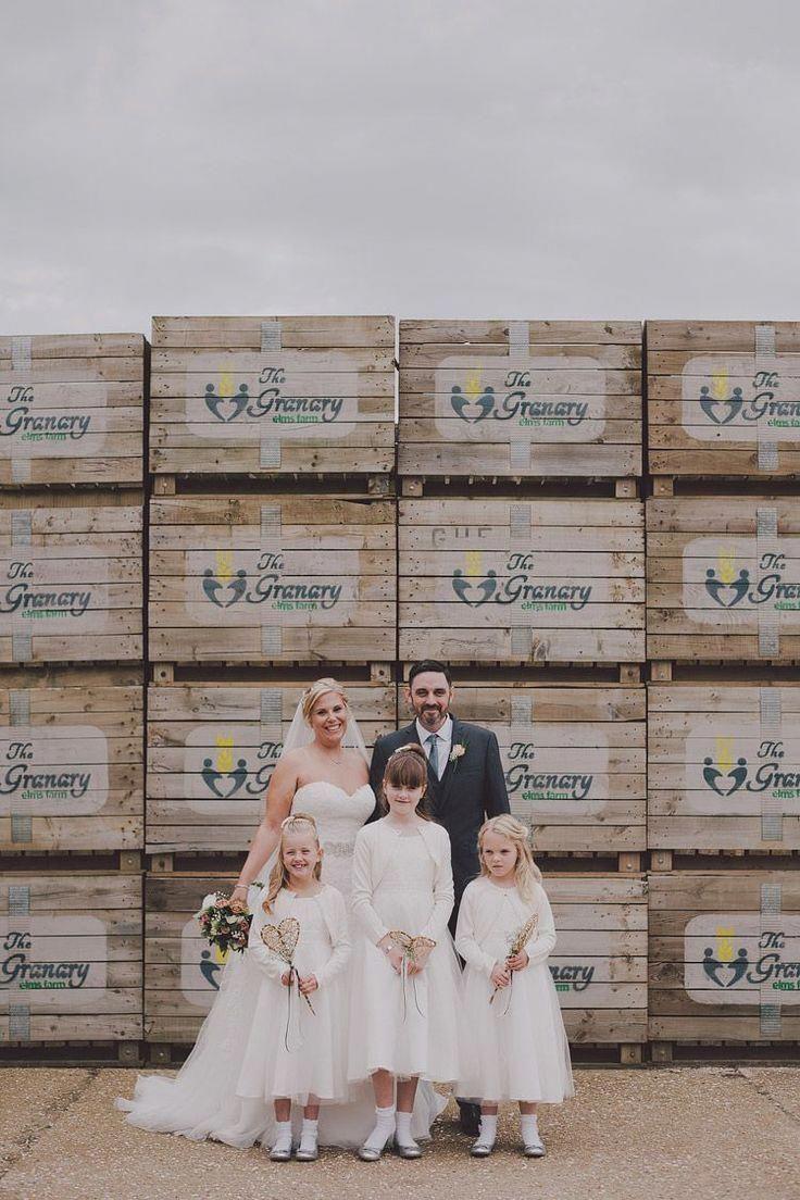 Chic & Rustic Grey Barn Wedding frugalweddingideascouple