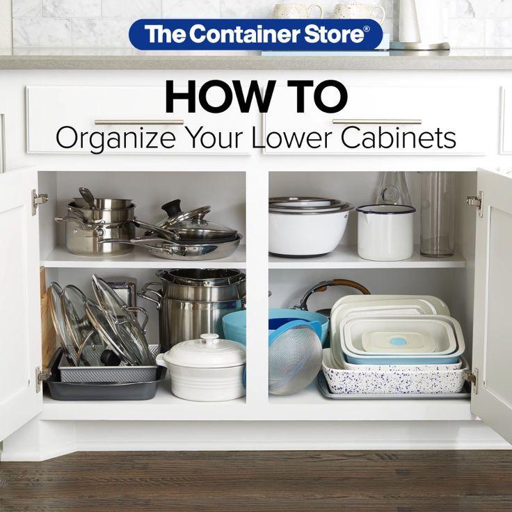 so organisieren sie ihre küchenschränke – schrittfür