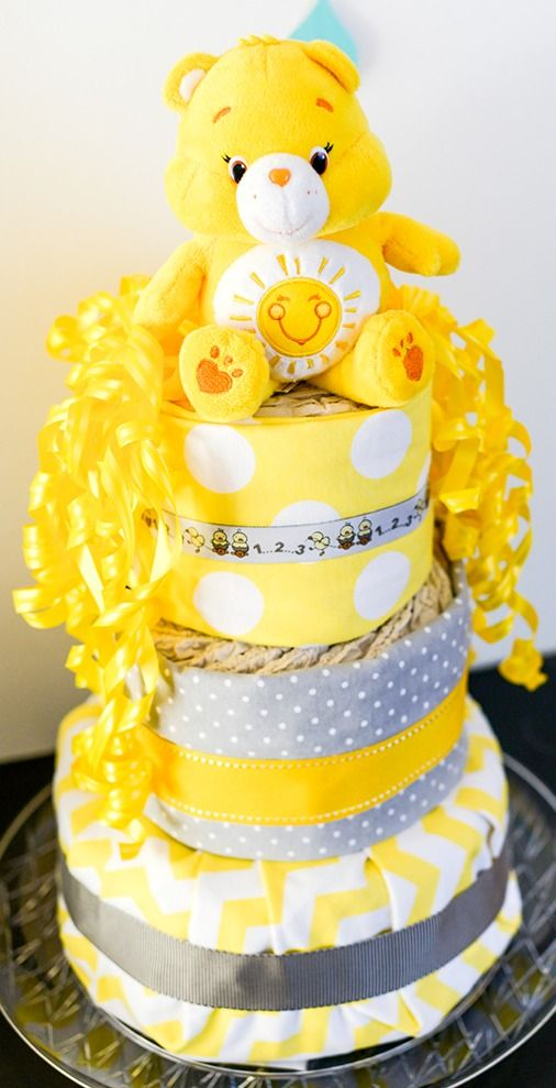 You Are My Sunshine Gender Reveal Party! | Pizzazzerie. Baby Shower ...