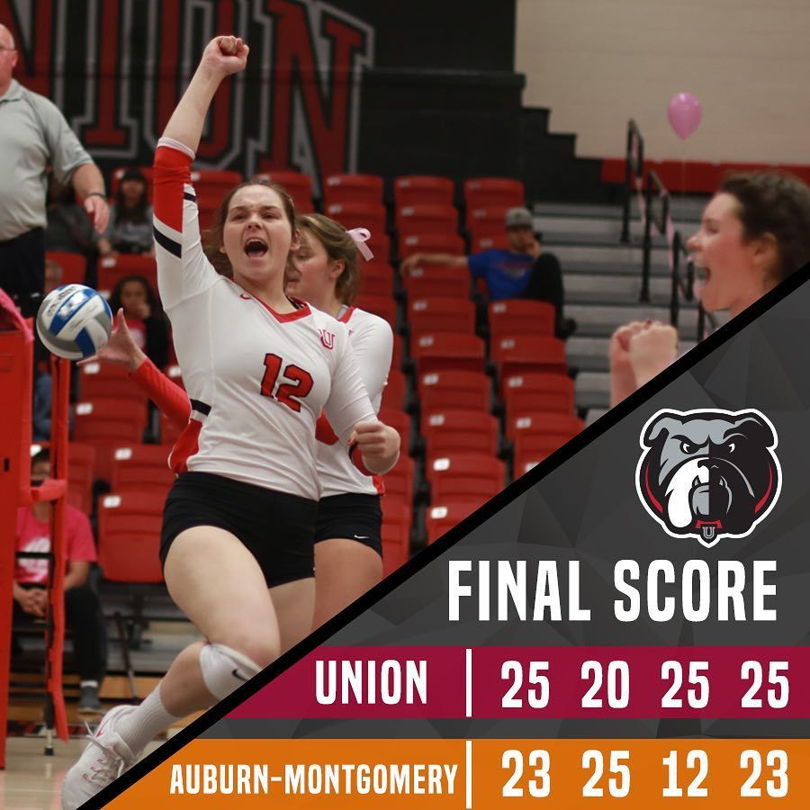 Uu Volleyball With The Win Over Aum Union University Volleyball Volleyball Team