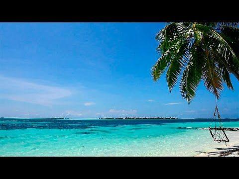 Relaxar! Suave Som das Ondas e Praia Paradisíaca - YouTube