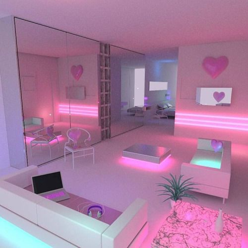 Groovy room! | Pink, Sparkly, Shiny & Lovely! | Pinterest | Room ...