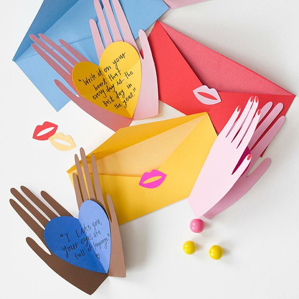 Hand Holding Heart Pop Up Card Pdf Template Heart Pop Up Card Greeting Card Inspiration Cards Handmade