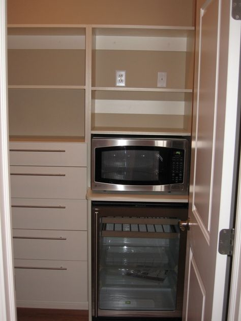 built in kitchen pantry cupboards Custom Home Kitchen Pantry