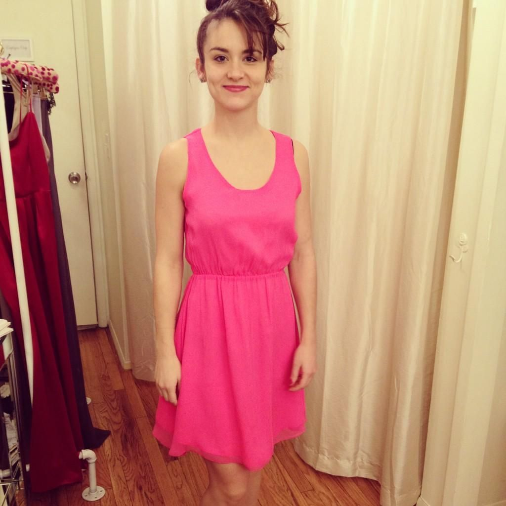 3df3ba2aea  Twitter  NYCFashionPRGrl Actress  AvaPaloma in one of  Lauren Gabrielson stunning  dresses!  spring  dress  pink  nyc  SoHO