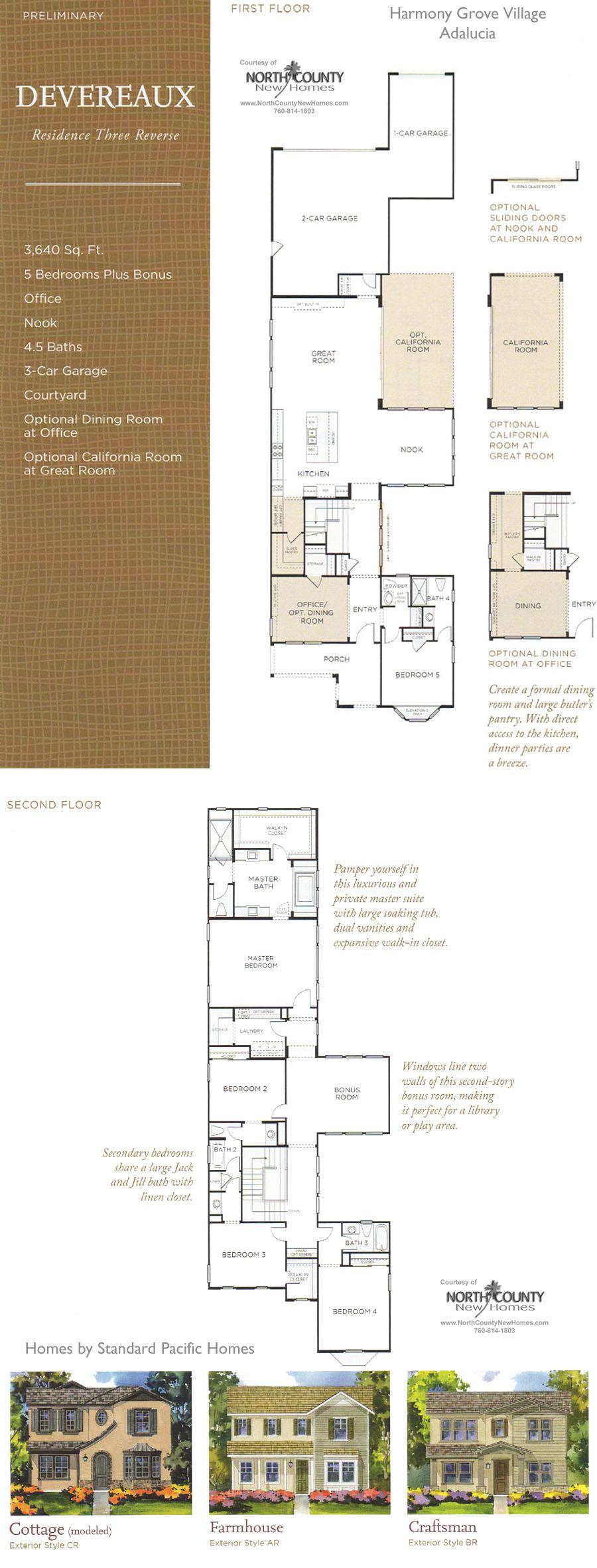 Andalucia Floor Plan 3 Harmony Grove Village Floor Plans Castle Plans House Floor Plans