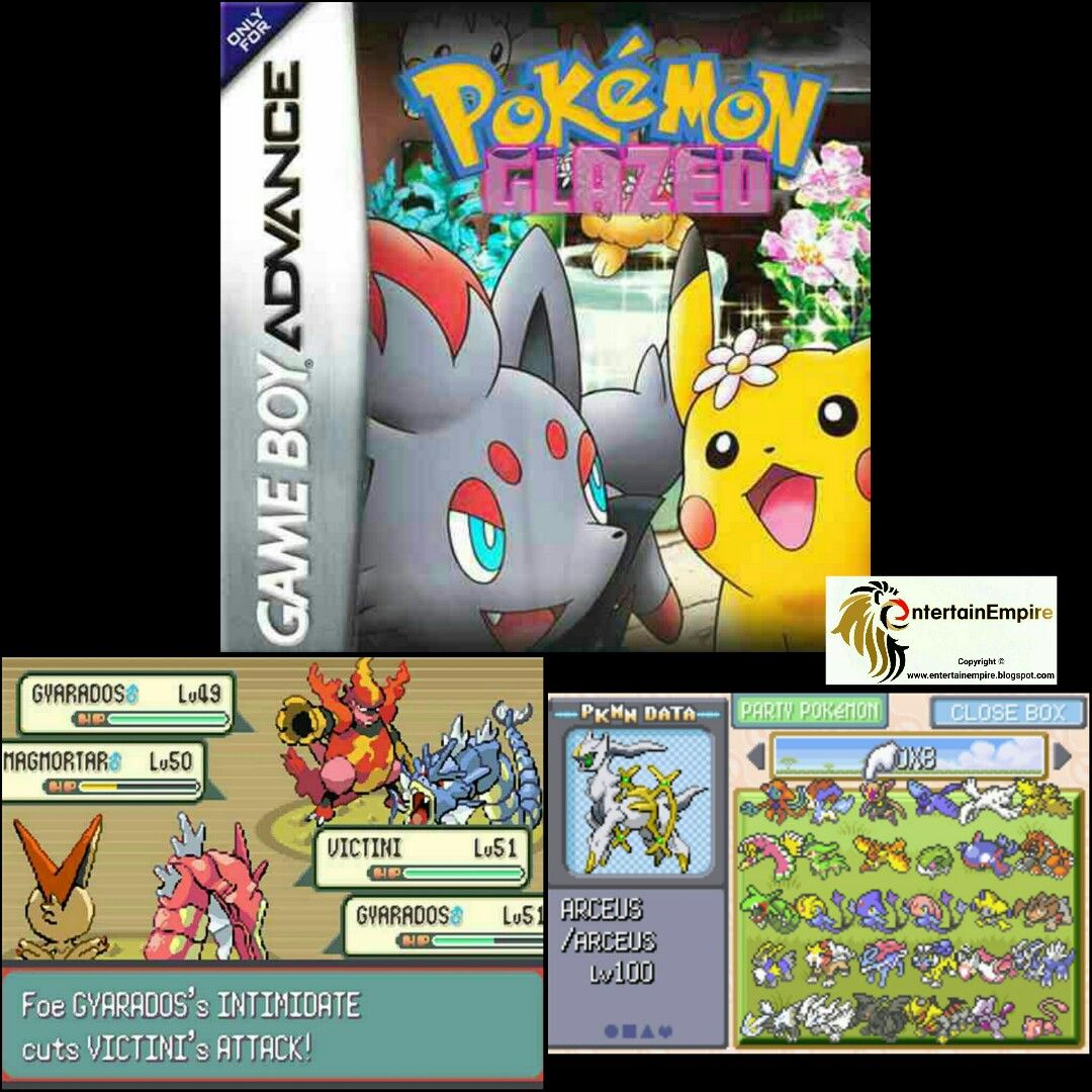 best pokemon roms for gba download