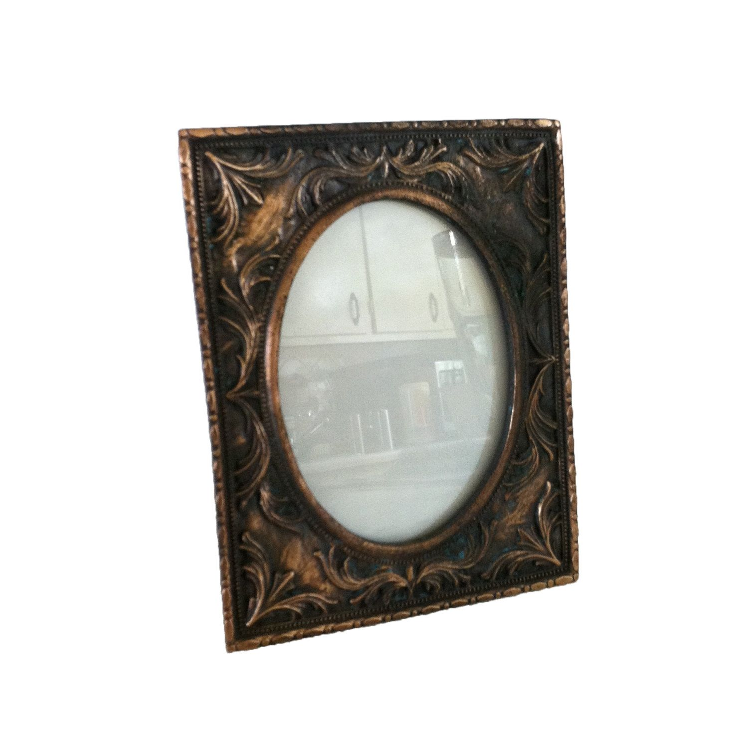 Antique picture frame solid copper photo frame display frame gift antique picture frame solid copper photo frame display frame gift idea by sunflowerbend on etsy jeuxipadfo Gallery