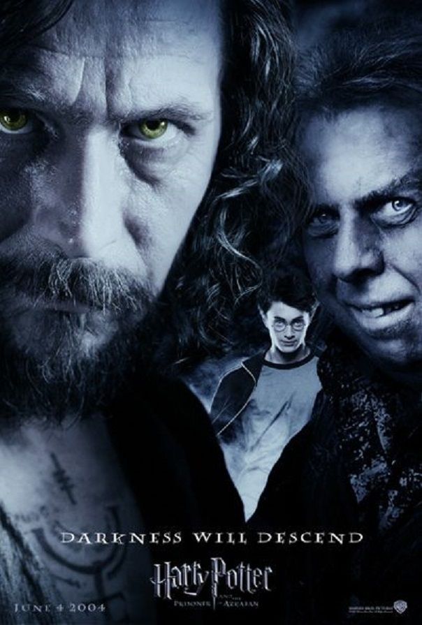 Sirius,Harry & Wormtail