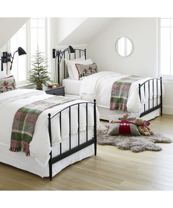 Mason Shadow Twin Bed Decorating Inspiration Christmas