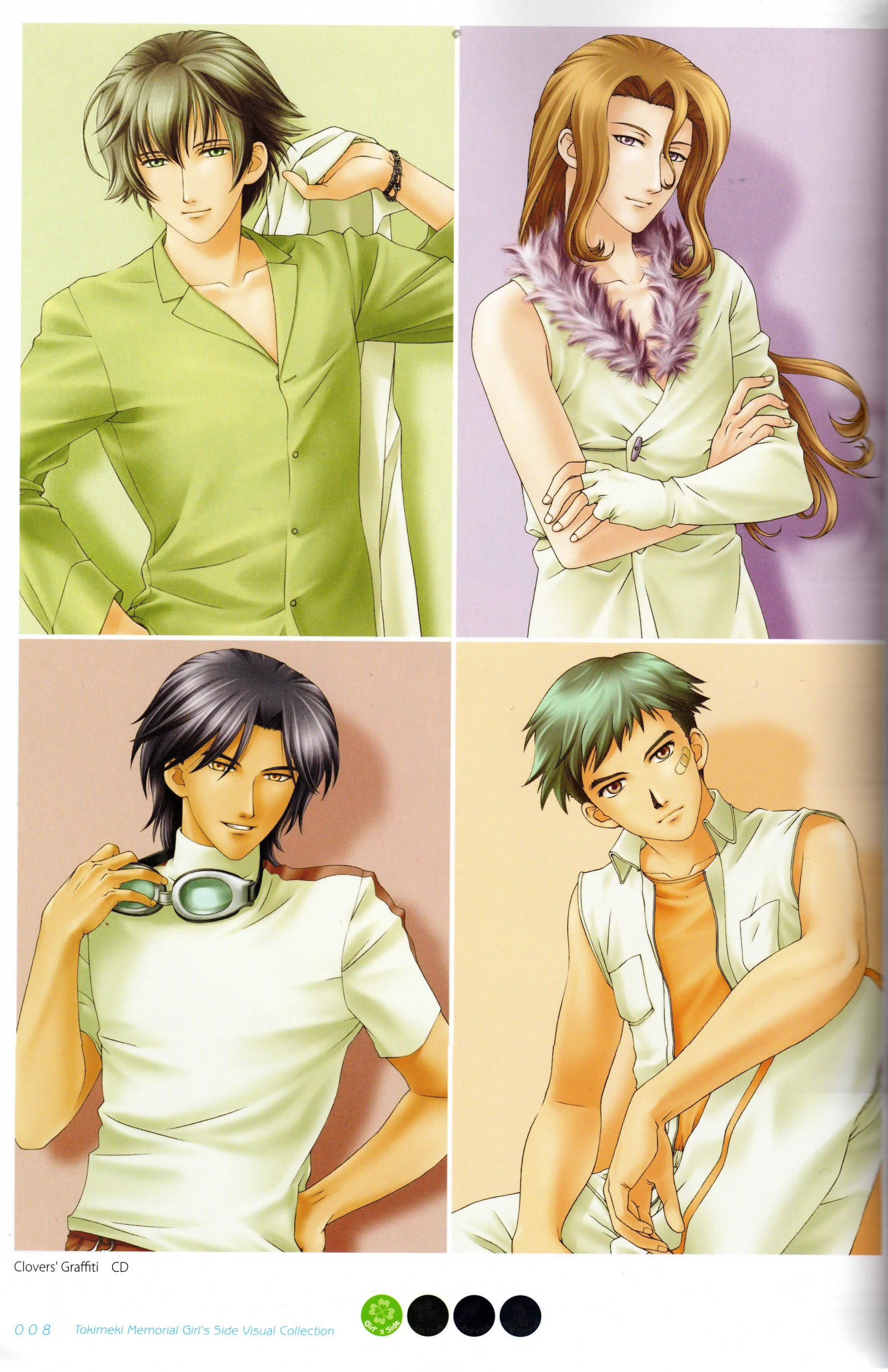 Tokimeki Memorial Girl S Side 1st Love 477101 Love Images Memories Anime Images