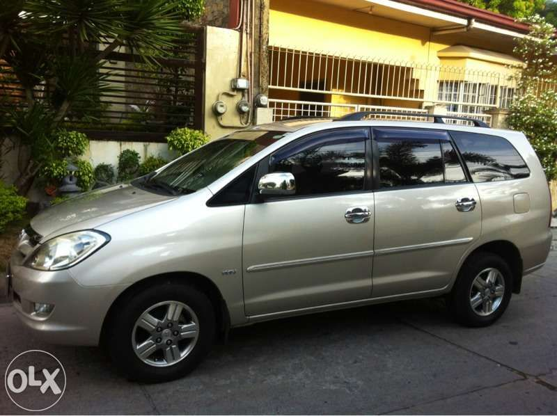 Toyota · Toyota Innova G 2008 manual transmission For Sale Philippines ...