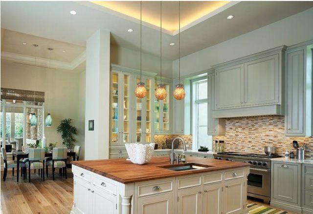 nora lighting  kücheninsel beleuchtung beleuchtung küche
