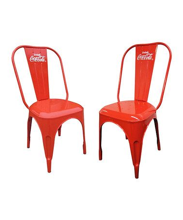another great find on zulily coca cola bistro chair set of two