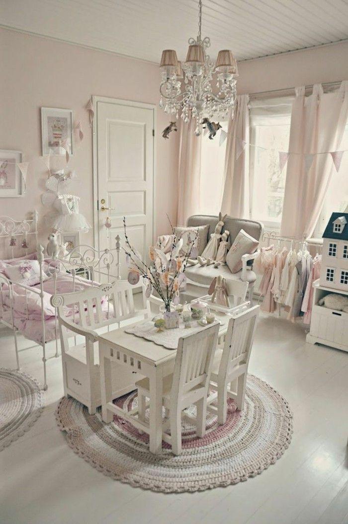 les meubles shabby chic en 40 images d 39 int rieur shabby chic decorating pinterest. Black Bedroom Furniture Sets. Home Design Ideas