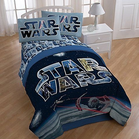 Star Wars Space Battle Comforter And Sheets 5pc Bedding Set Full