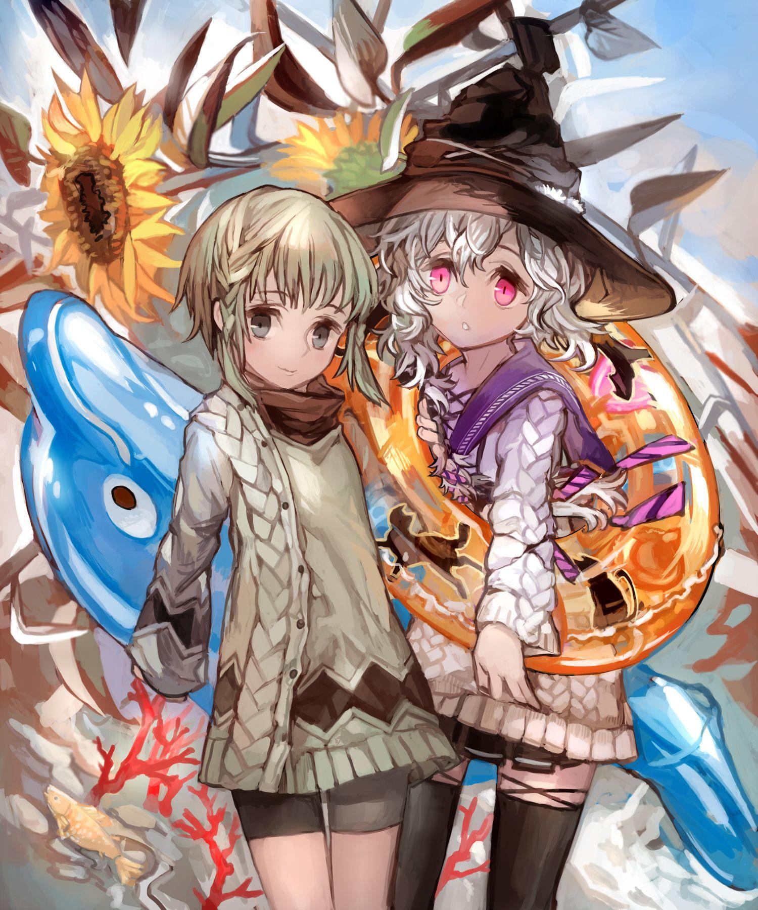 Black Bullet Fuse Midori & Senju Kayo