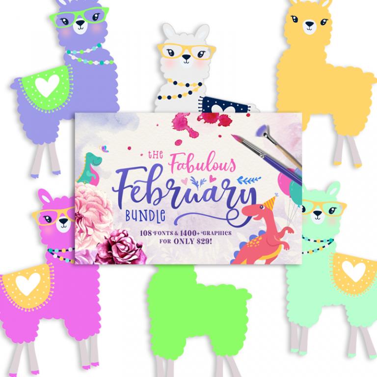 You Re A Llama Fun Freebie Collection Llama Clipart Llama