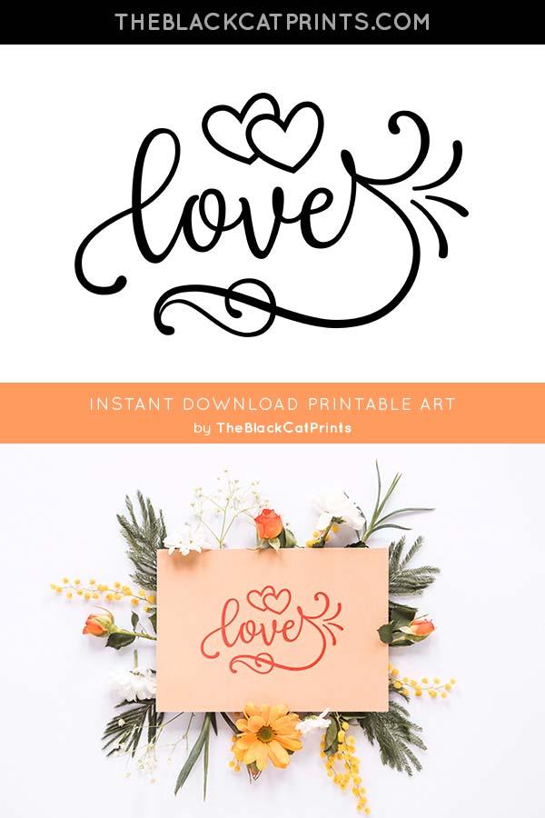 Download Love SVG DXF PNG EPS | Vinyl crafts, Creative crafts ...