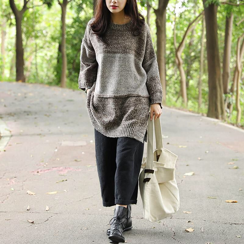 In fashion today's vogue is often tomorrow's heresy. But this sweater with understated color and well-cut design is an exception. Fashionable yet classical. #buykud #sweater #autumn #winterclothes #lovethislook #ootd #womenswear #fashion #elegance #casual #comfort