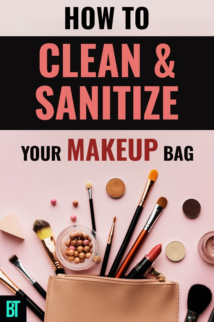 How to Clean & Sanitize Your Makeup Bag or a Purse in 2020