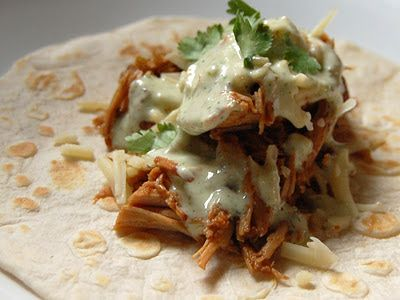 Cassie Craves: Sweet Pork Tacos with Cilantro Ranch Dressing