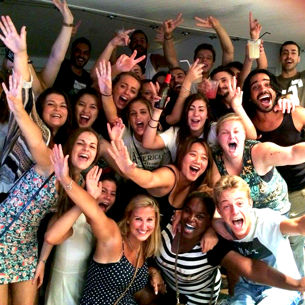 #party is thing you don't want to miss out when doing your #internship in #Spain. Work hard, party harder!   animafestexperience.com