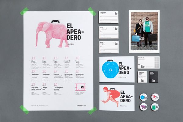 25 inspirational examples of brand presentation | brand identity, Powerpoint templates