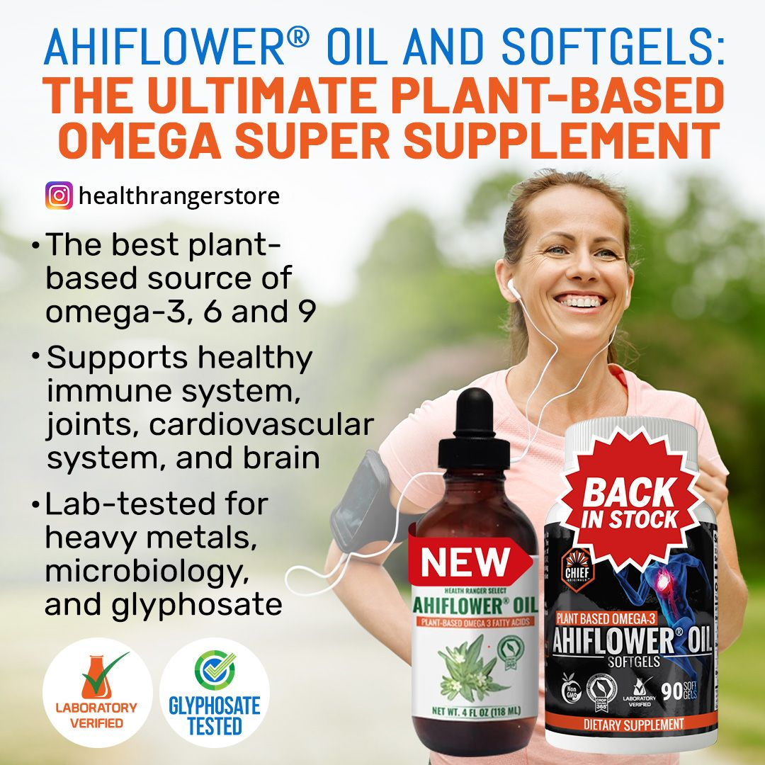 Enhance your levels of omega fatty acids with ahiflower