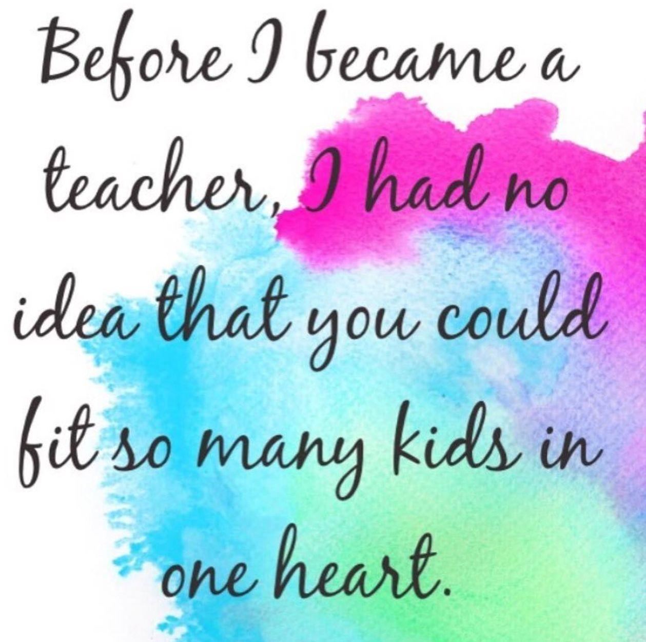 Before I Became A Teacher