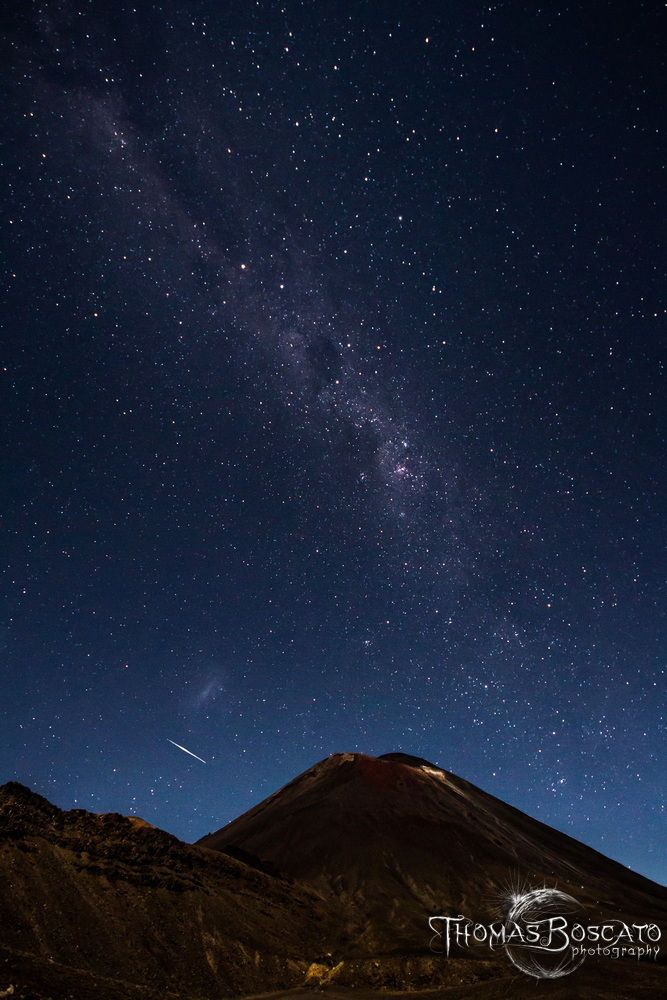 Milkyway over the Mordor by Thomas B. on 500px