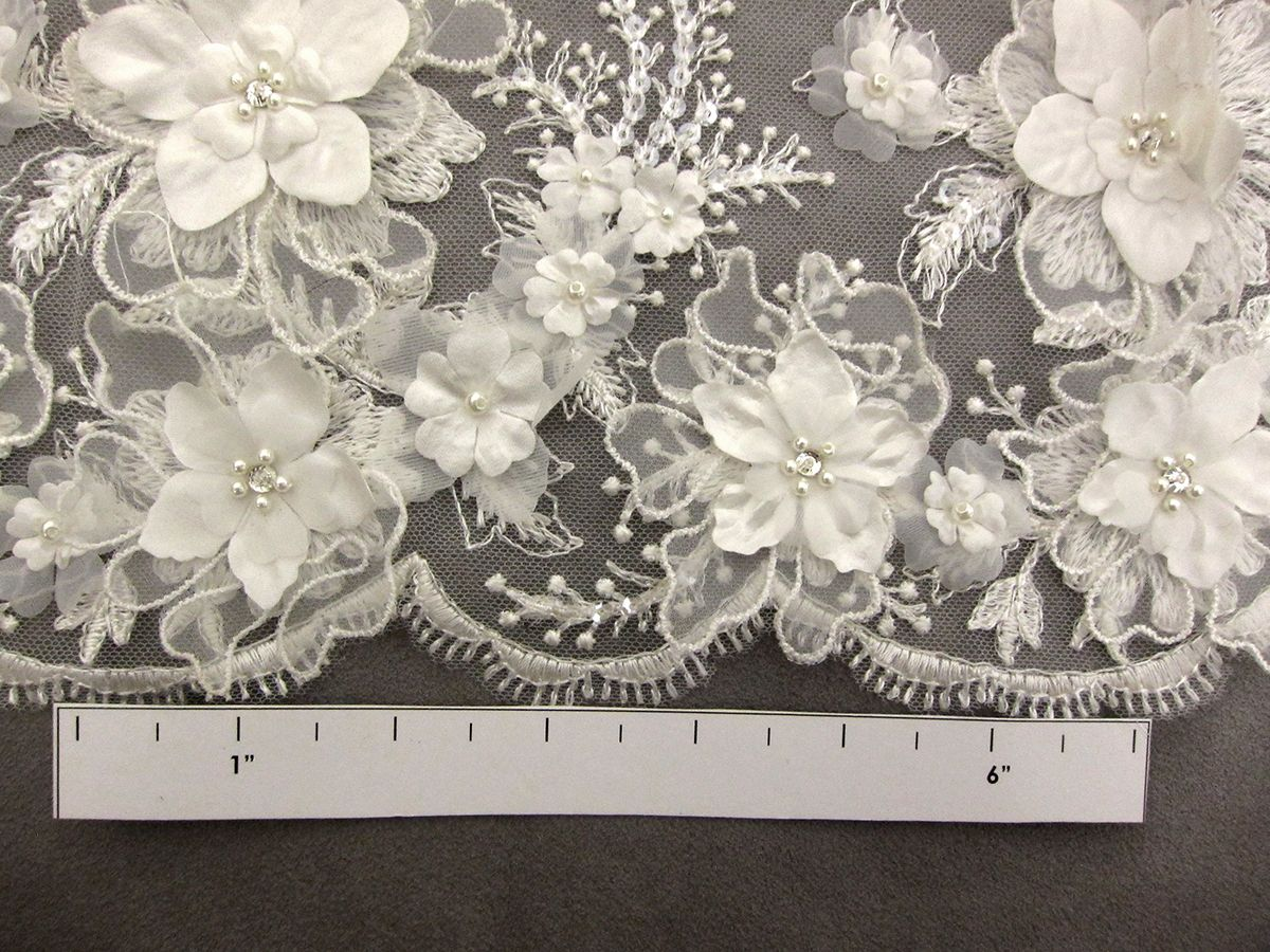 Tulle Flower Applique