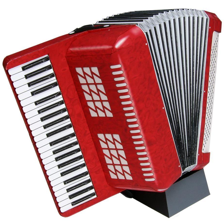 Accordion Musical instruments Decorative Paper Craft