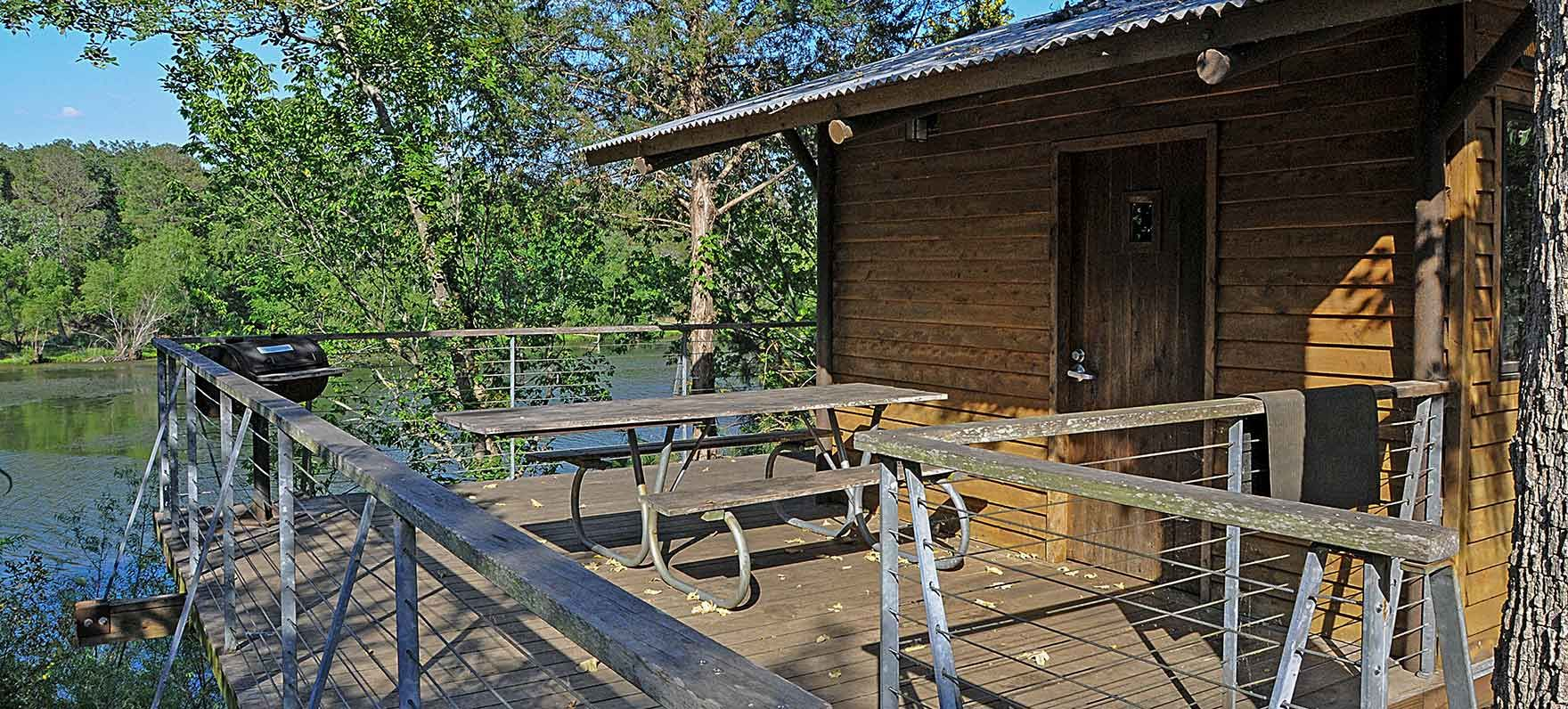 Buescher State Park Limited Use Cabins — Texas Parks & Wildlife Department