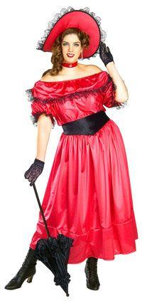 Adult Plus Size Southern Belle Costume - Civil War Costumes | Curvy ...