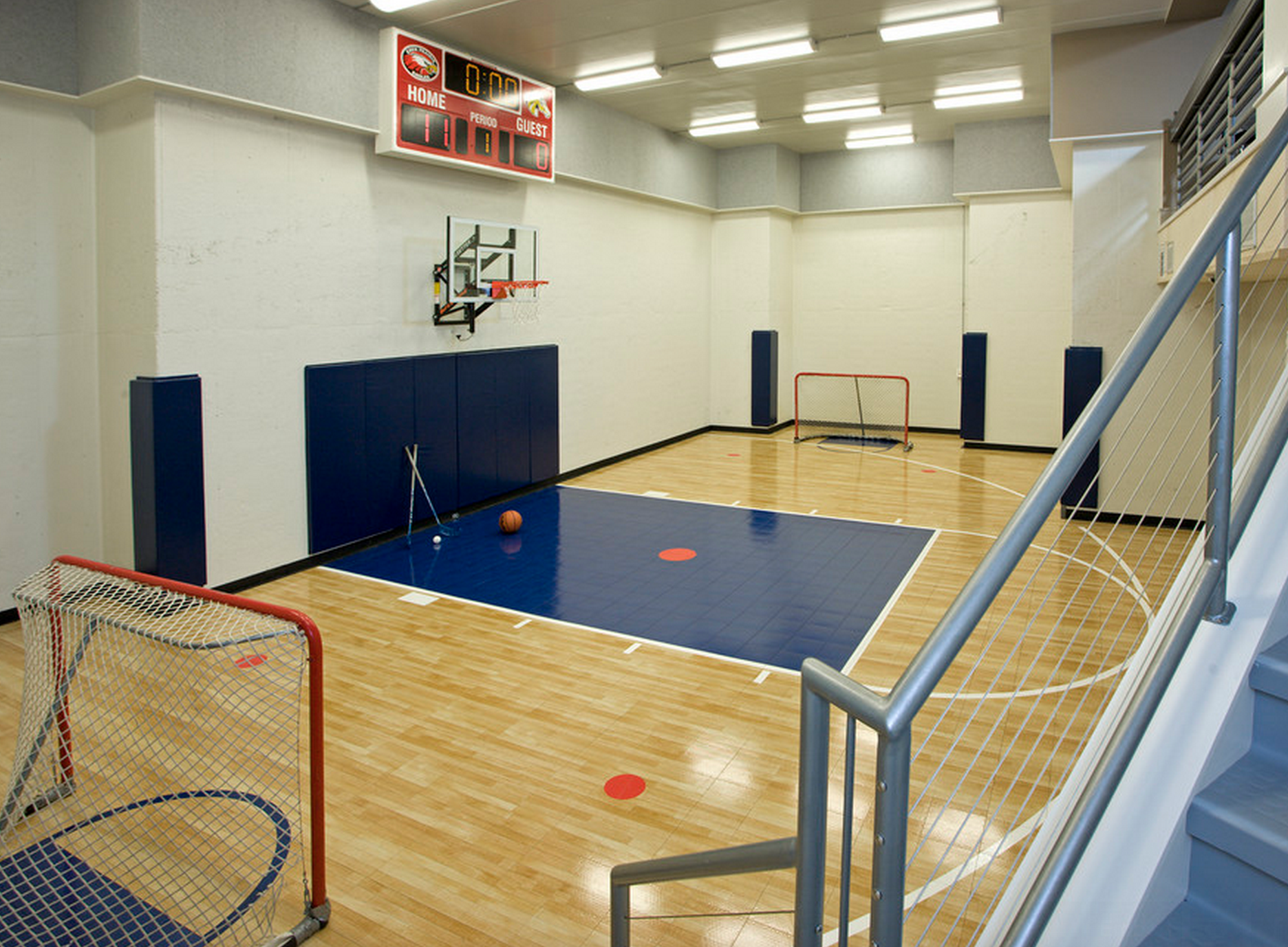 So much room for activities! SportCourt HomeInspiration