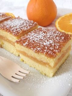 Photo of Torta all'arancia cremosa