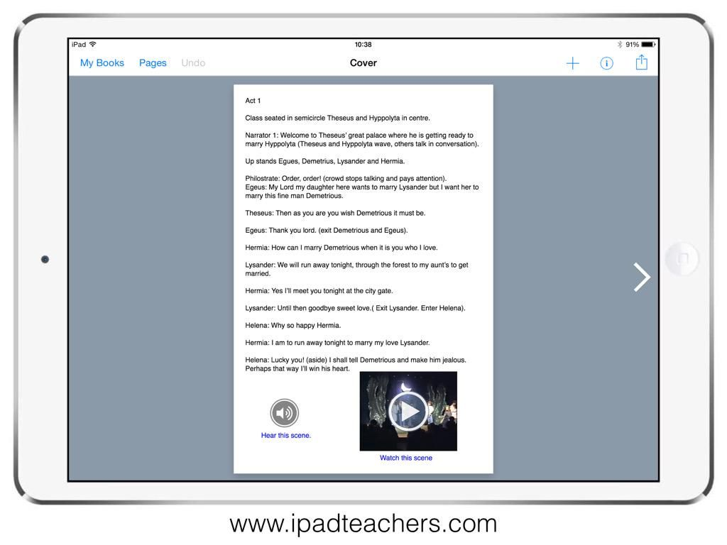 Pupil Playscripts With Audio Lines And Video Performances