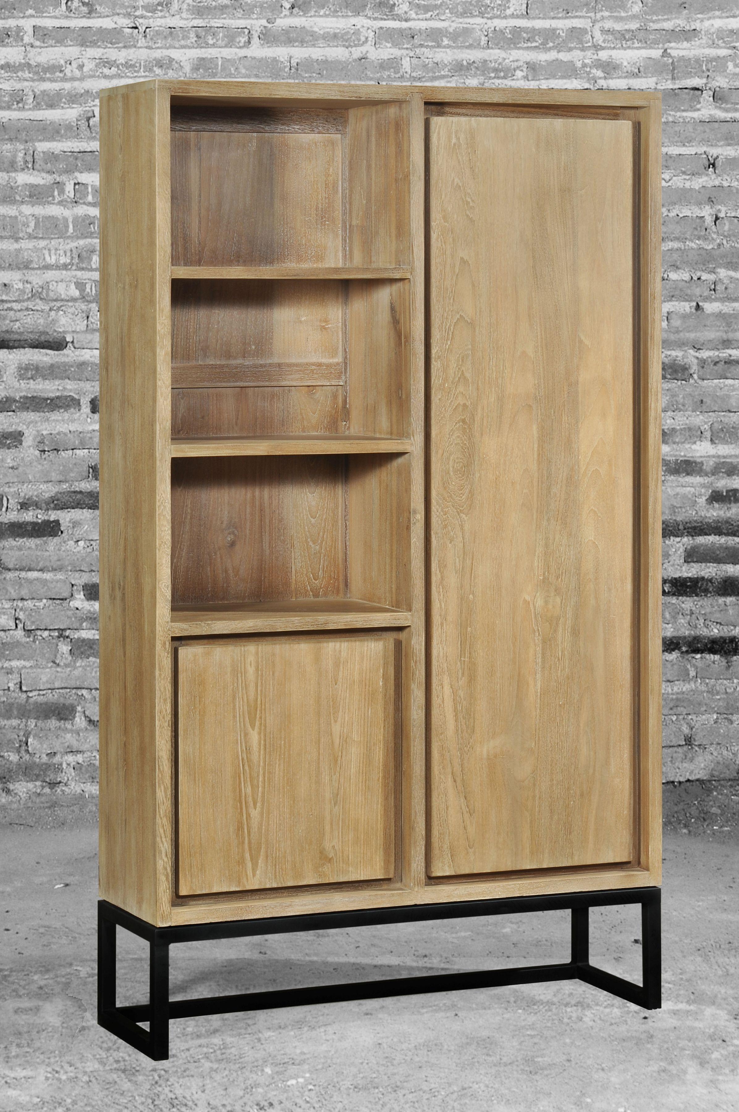 Kast in oude teak gecombineerd met ijzer meubels pinterest kast huisdecoratie en babykamer - Oude huisdecoratie ...