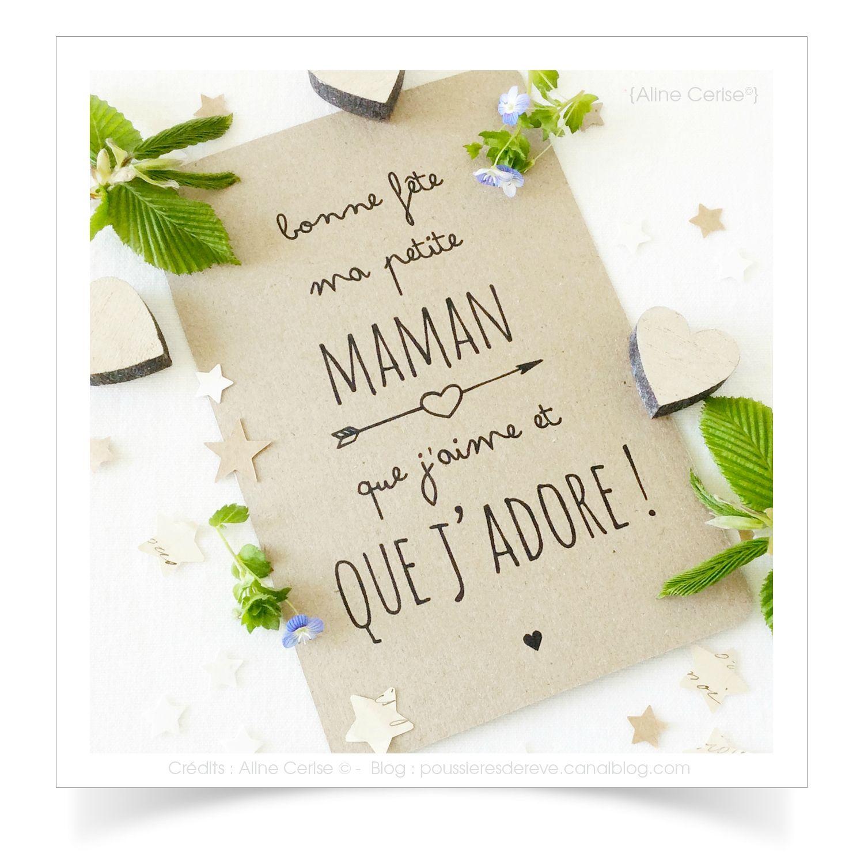 Carte bonne fete maman cartes pinte - Carte bon anniversaire maman ...